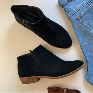 Gianni Bini suede ankle booties